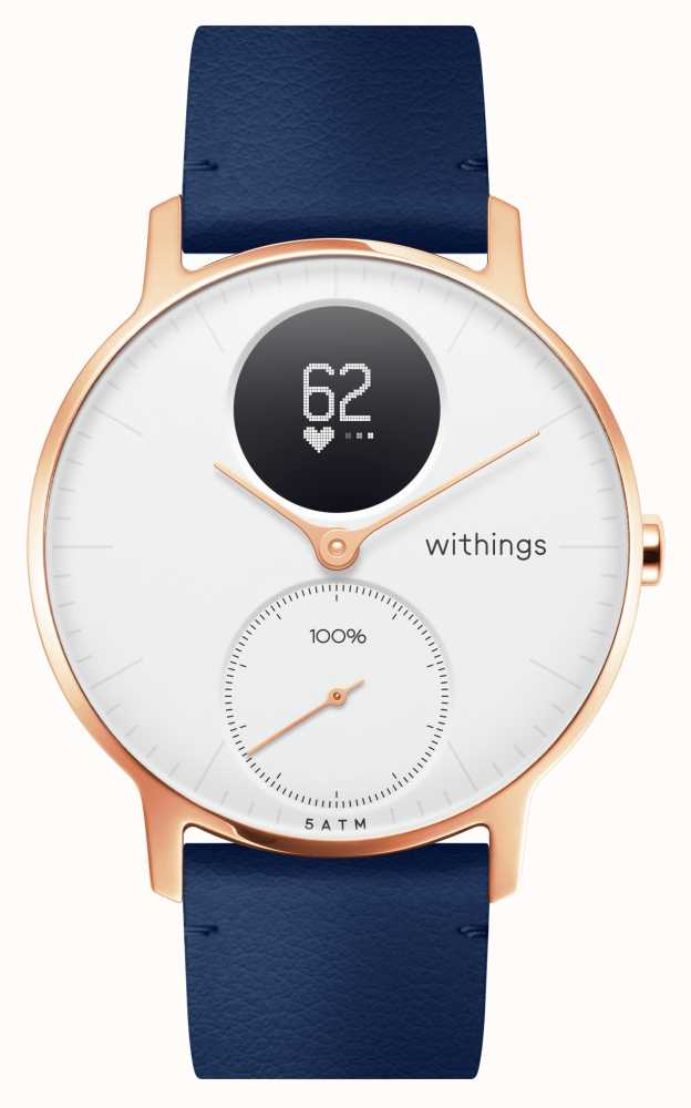Withings HWA03B-36WHITE-RG-L.BLUE-ALL-INTER