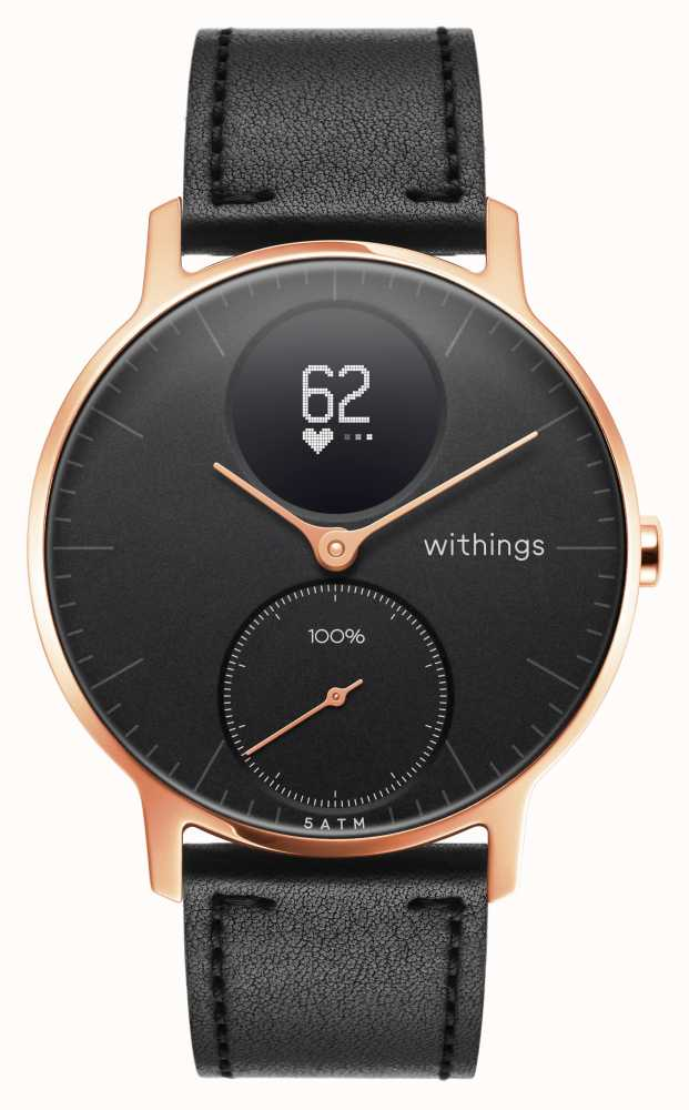 Withings HWA03B-36BLACK-RG-L.BLACK-ALL-INTER