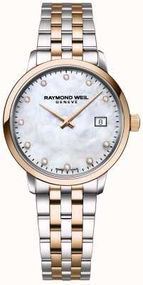 Raymond Weil | Womens Toccata Diamond | Two Tone Stainless Steel | 5985-SP5-97081