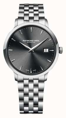 Raymond Weil | Mens Toccata | Stainless Steel Bracelet | Grey Dial | 5485-ST-60001