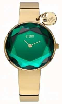 STORM | Womens Alya Gold Lazer Green | 47436/GD/G