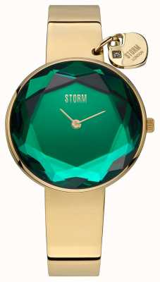 STORM | Womens Alya Gold Lazer Green | 47436/GD/G