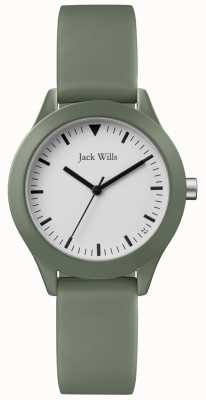 Jack Wills | Ladies Grey Rubber Strap | JW008FGFG