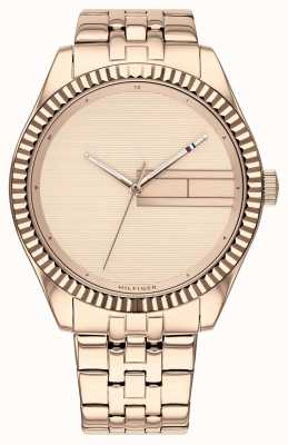 Tommy Hilfiger | Women's Rose Gold Stainless Steel Bracelet | Rose Gold Dia 1782082