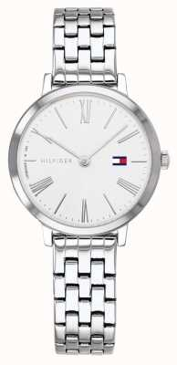 Tommy Hilfiger | Womens Stainless Steel Bracelet | White Dial | 1782056