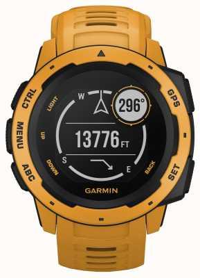 Garmin Instinct Sunburst Outdoor GPS Silicone Strap 010-02064-03