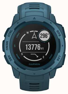 Garmin Instinct Lakeside Blue Outdoor GPS Silicone Strap 010-02064-04