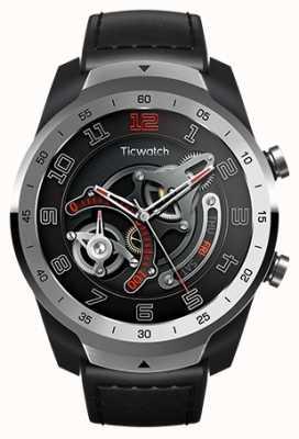 TicWatch Pro | Liquid Metal Silver Smartwatch WF12096-SILV