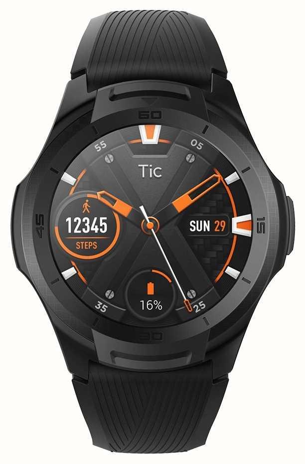 TicWatch 131585-WG12016-BLK