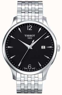 Tissot | Mens Classic | Stainless Steel Bracelet | Black Dial | T0636101105700