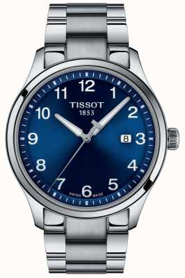 Tissot | Mens XL | Blue Dial | Stainless Steel Bracelet | T1164101104700