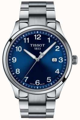 Tissot | Mens XL | Blue Dial | Stainless Steel Bracelet | T1164101104700