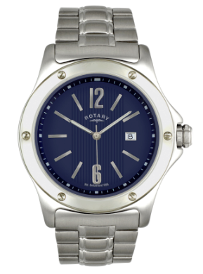 Rotary Search Results Rotary Mens Stainless Steel Quartz Analog GB02566/05