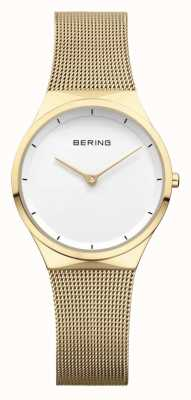 Bering | Womens Stainless Steel Rose Gold Mesh | 12131-339