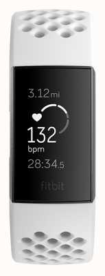 Fitbit Charge 3 Special Edition - Graphite/White (online only) FB410GMWT-EU