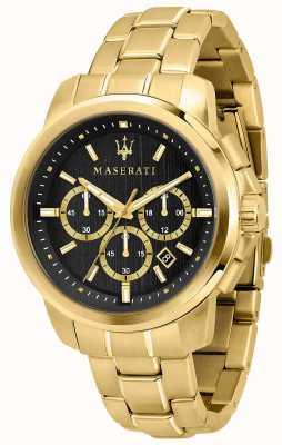 Maserati Successo Men's Gold Plated Watch R8873621013