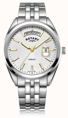 Rotary | Ex-Display | Henley | White Dial | Stainless Steel | GB05290/70-EXDISPLAY