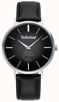 Timberland | Mens Rangeley | Black Leather Strap | Black Dial | 15514JS/02