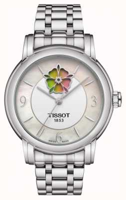 Tissot Womens Heart Flower Powermatic 80 Stainless Steel Bracelet T0502071111705