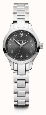 Victorinox Swiss Army | Womens Alliance XS | Black Dial | Stainless Steel Bracelet 241839