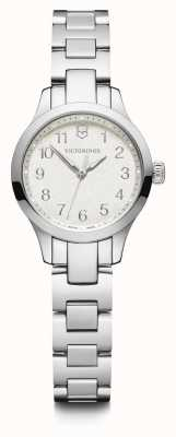 Victorinox Swiss Army | Womens Alliance XS | White Dial | Stainless Steel Bracelet 241840