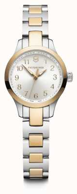 Victorinox Swiss Army | Womens Alliance XS | Silver Dial | Two Tone Bracelet | 241842