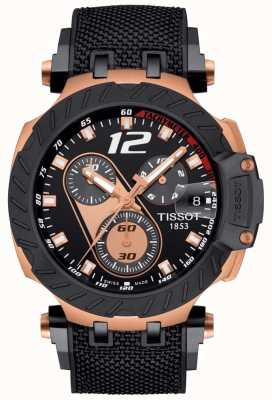 Tissot | Mens T-Race Moto GP | Black Rubber Strap | Black Dial | T1154173705700