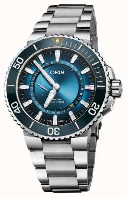 Oris Aquis Great Barrier Reef III Limited Edition Stainless Steel 01 743 7734 4185-SET