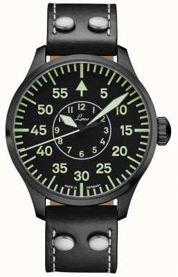 Laco | Bielefeld 42 | Automatic Pilot | Black Leather Strap | 861760.2