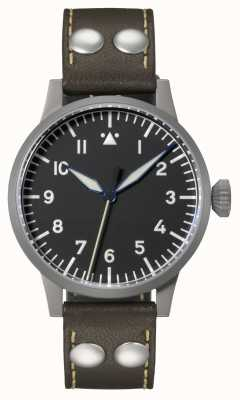 Laco | Heidelberg | Automatic Pilot | Brown Leather | Black Dial 862094
