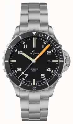 Laco | Himalaya MB | Stainless Steel Bracelet | Black Dial | 862106.MB