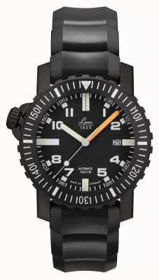 Laco | Seven Seas | Automatic Squad Watch | Black Rubber Strap | 861703