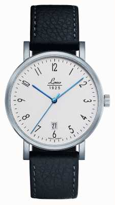 Laco | Berlin 40 | Classic Automatic | Black Leather | White Dial 861861