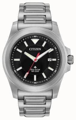 Citizen Men's Eco-Drive Super Tough Sapphire Glass Stainless Steel BN0211-50E