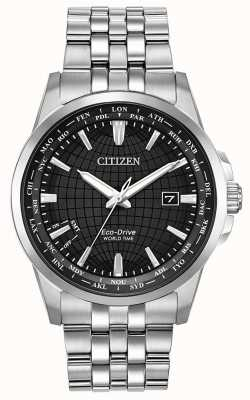 Citizen Eco-Drive World Time Perpetual Calendar Stainless Steel BX1000-57E