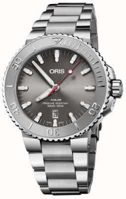Oris | Aquis Date | Stainless Steel Bracelet | Grey Dial | 01 733 7730 4153-07 8 24 05PEB
