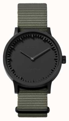 Leff Amsterdam | Tube Watch | T32 | Black | Grey Nato Strap | LT74252