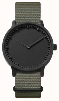 Leff Amsterdam | Tube Watch | T40 | Black | Grey Nato Strap | LT75252