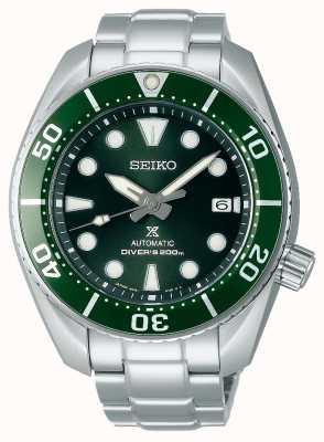 Seiko Prospex Diver Sumo Green Men's Stainless Steel SPB103J1