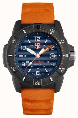 Luminox Navy Seal 3600 Series | Orange Rubber Strap | Blue Dial XS.3603