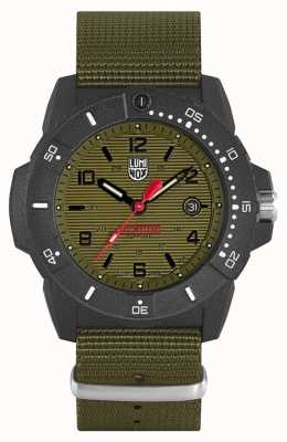 Luminox Mens Navy Seal 3600 Series Set Green Dial XS.3617.SET