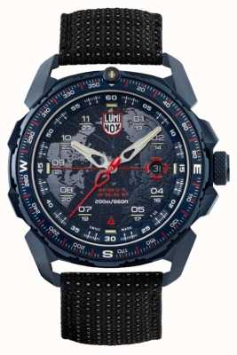 Luminox Ice-sar Arctic 1200 Series | Black Reflective Strap | Blue XL.1203