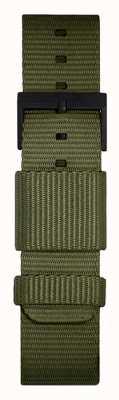 Leff Amsterdam | Green Nato Strap | Black Buckle | LT75032-STRAP