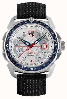 Luminox Ice-sar Arctic 1200 Series | Black Reflective Strap | Silver XL.1208