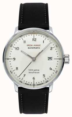 Iron Annie Bauhaus | Automatic | Black Leather Strap | 5056-1