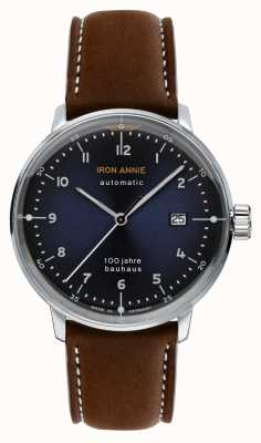Junkers | Iron Annie | Bauhaus | Automatic | Brown Leather Strap | 5056-3