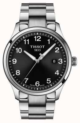 Tissot | Mens XL Classic | Stainless Steel Bracelet | Black Dial | T1164101105700