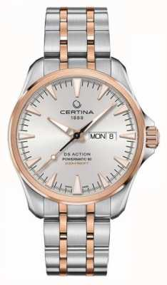 Certina | DS Action Day-Date Powermatic 80 | Stainless Steel | C0324302203100