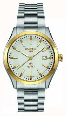 Roamer Automatic RD100 | Stainless Steel Bracelet | Cream Dial 951660-47-15-90