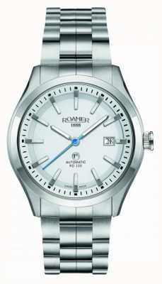 Roamer Automatic RD100 | Stainless Steel Bracelet | White Dial 951660-41-25-90